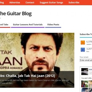 AbhiGuitar Redesigned – Clean and Responsive Look