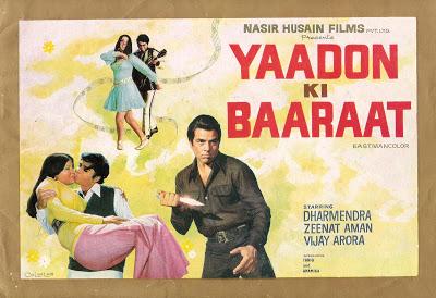 Chura Liya Hai Tumne - Yaadon Ki Baaraat (1973) Poster