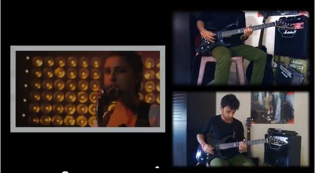 main pareshaan - ishqzaade video cover